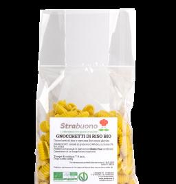 """Organic rice and turmenic pasta """"gnocchetti"""""""