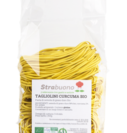 "Organic turmeric pasta ""Tagliolini"""