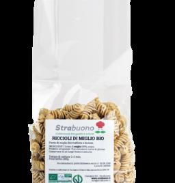 "Organic millet pasta ""Riccioli"""