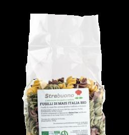 "Organic Italy Corn pasta ""Fusilli"""